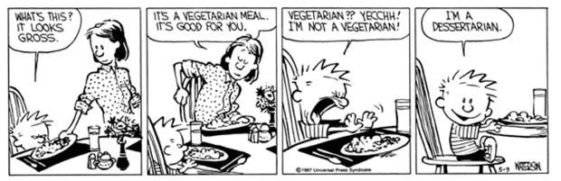 Calvin 1987 Dessertarian